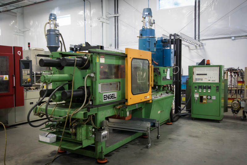 Engel 100 Ton injection molding press